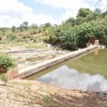 The Water Project: Kithuluni Community B -  First Dam