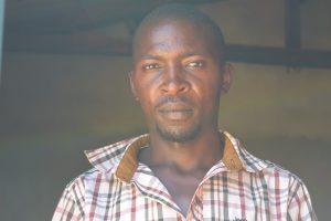 The Water Project:  Benson Wambua