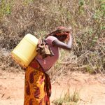 The Water Project: Ngitini Community -  Carrying Water