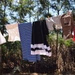 The Water Project: Ngitini Community -  Clothes Hanging To Dry