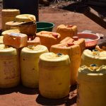 The Water Project: Ngitini Community -  Water Collection And Storage Containers
