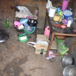 The Water Project: Ikuusya Community -  Dishes In Kitchen