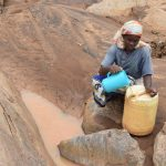 Ikuusya Community Sand Dam Underway