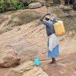 The Water Project: Ikuusya Community -  Preparing To Carry Water