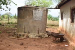 The Water Project:  Rainwater Storage Tank