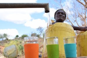 The Water Project:  Clean Water Flows From Well