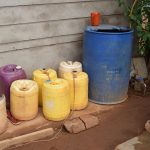 The Water Project: Katalwa Community -  Water Storage Containers