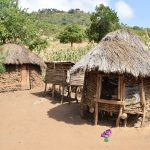 The Water Project: Masaani Community -  Compound With Coops In Foreground