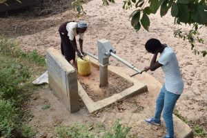 The Water Project:  Using First Well
