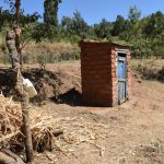The Water Project: Ilinge Community D -  Handwashing Station And Latrine
