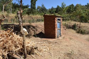 The Water Project:  Handwashing Station And Latrine