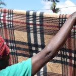The Water Project: Ilinge Community D -  Hanging Clothes To Dry
