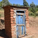 The Water Project: Ilinge Community D -  Latrine