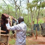 The Water Project: Kaliani Community -  Hanging Clothes To Dry