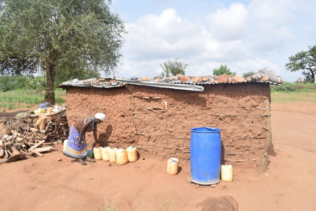 The Water Project : kenya18195-water-storage-containers