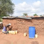 The Water Project: Maluvyu Community D -  Water Storage Containers