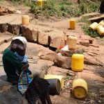 The Water Project: Utini Community -  Fetching Water
