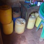 The Water Project: Utini Community -  Water Storage Continaers