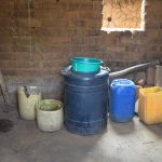 The Water Project: Kithumba Community B -  Water Storage In Kitchen