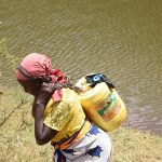 The Water Project: Kithuluni Community C -  Carrying Water