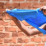 The Water Project: Kithuluni Community C -  Hanging Clothes To Dry