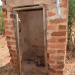 The Water Project: Kithuluni Community C -  Latrine