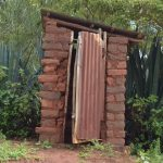 The Water Project: Kala Community A -  Latrine