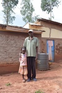 The Water Project:  Mr Ntheketha And Daughter