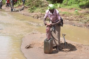 The Water Project:  Preparing To Bring Water Home