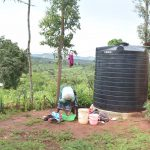 The Water Project: Kala Community A -  Rainwater Harvesting Tank