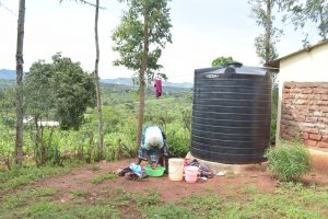 The Water Project:  Rainwater Harvesting Tank