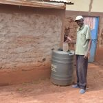 The Water Project: Kala Community A -  Water Storage Tank