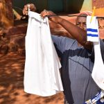 The Water Project: Katalwa Community A -  Cllothesline