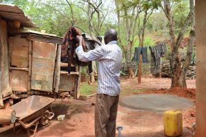 The Water Project:  Hanging Clothes On Line