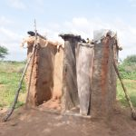 The Water Project: Maluvyu Community E -  Latrine And Bathroom