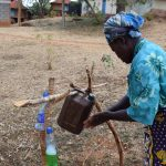 The Water Project: Mitini Community C -  Using Tippy Tap For Handwashing