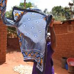 The Water Project: Utini Community A -  Hanging Clothes To Dry