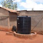 The Water Project: Utini Community A -  Rainwater Tank
