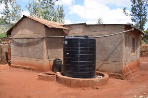 The Water Project:  Rainwater Tank