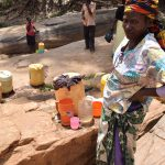 The Water Project: Utini Community A -  Water Containers Out For Collecting Water