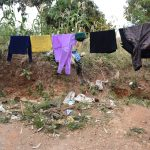 The Water Project: Kithumba Community C -  Clothesline
