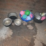 The Water Project: Kithumba Community C -  Dishes