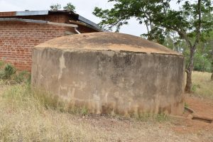 The Water Project:  Broken Rainwater Tank