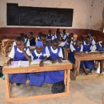 The Water Project: Ndiani Primary School -  Girls In Class