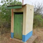 The Water Project: Ndiani Primary School -  Staff Latrine