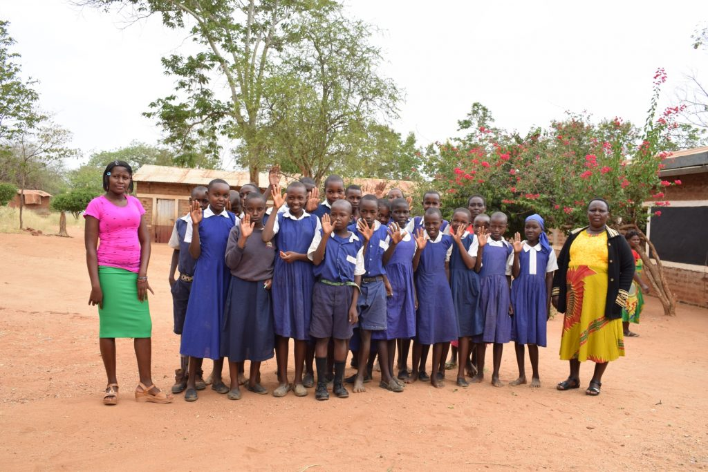 The Water Project : kenya18237-students