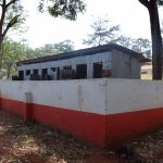 The Water Project: Ndoo Secondary School -  Boys Latrines