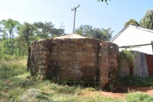 The Water Project:  Old Rainwater Tank