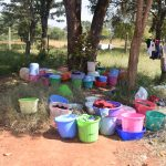 The Water Project: Ndoo Secondary School -  Water Buckets
