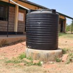 The Water Project: Ngaa Secondary School -  Existing Water Tank